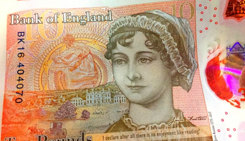 the new ten pound note