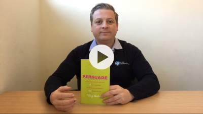 'Persuade' business book review video picture (1)