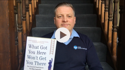 What got you here won't get you there - business book review