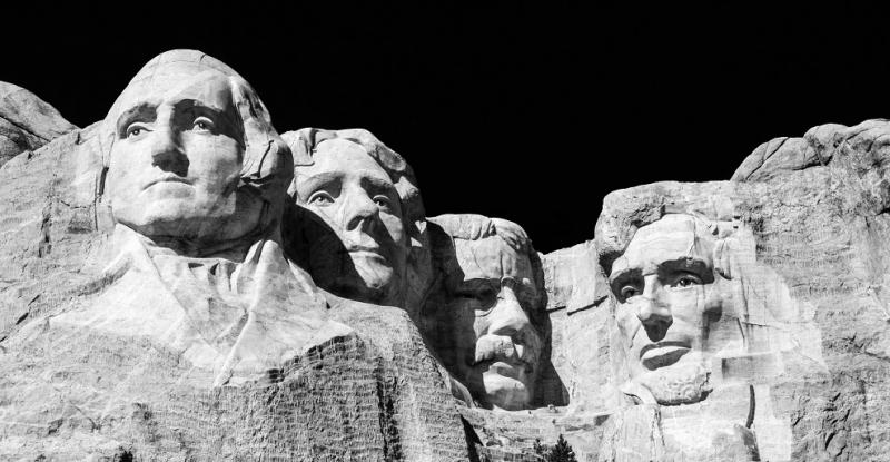 great leader george washington mount rushmore