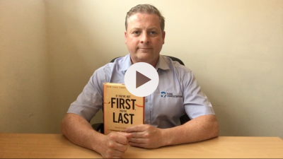 'If You're Not First You're Last' business sales book