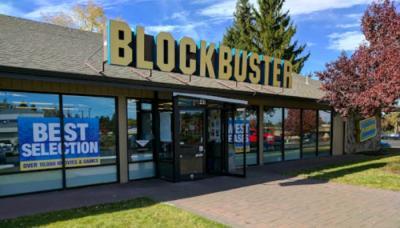 Blockbuster and Netflix