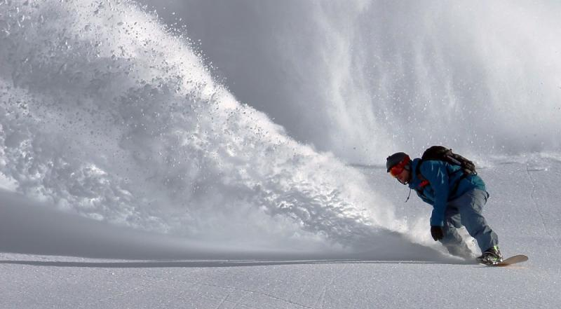 snowboarding small business lean in